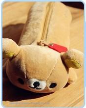 Studente kawaii san-x sentimental rilakkuma cancelleria peluche 24*9 cm penna borsa coin cash borsa e portafoglio sacchetto del sacchetto della cassa(China (Mainland))