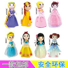 Princess color clay ultra-light paper clay girls handmade diy material kit set sophia snow white(China (Mainland))