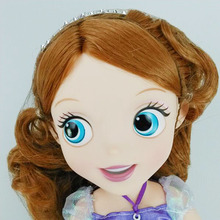 12″30cm 16″40cm Fantasy Animators Collection Princess Sofia Doll Vinyl PVC Action Figure for Girls' Best Birthday Gifts