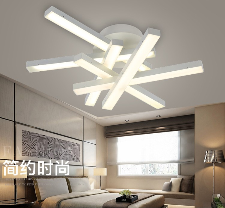 Moderno led lampadario lampade a led luce bianca calda - Meglio luce calda o fredda in cucina ...