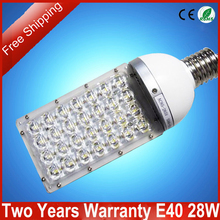 Free Shipping 5pcs/lot High Power E40 28W LED Street Light Two Years Warranty Outdoor Street Lamp(China (Mainland))