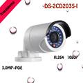 2016 NEW multi language DS 2CD2035 I H 265 3MP IP POE camera 1 3 CMOS