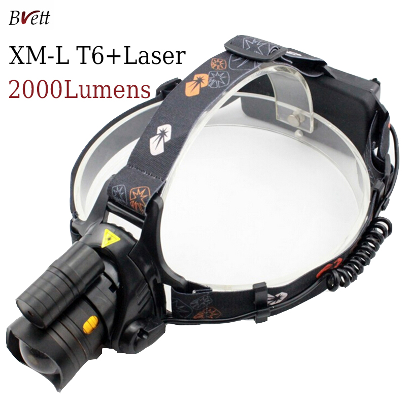 New light led headlamps with a red laser 4mod can zoom repellent led head lamp light for outdoor hunting<br><br>Aliexpress