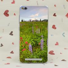 4066CA Wildflower Dawn Hard Transparent Case Redmi 2 2A 3s Pro Note 3 Meizu M2 Mini M3 - TTcase Store store