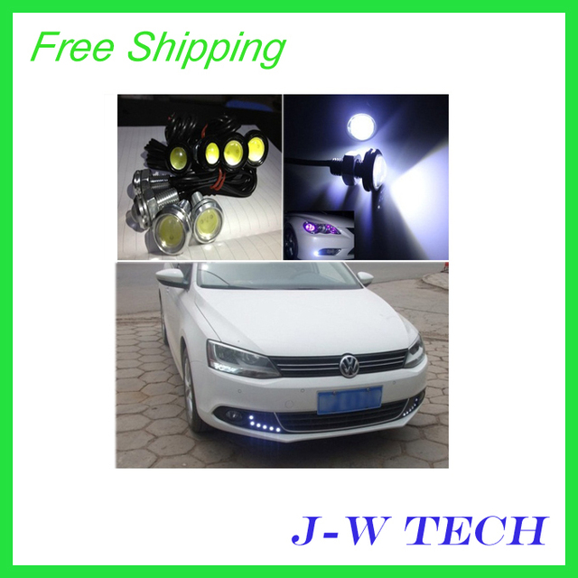 Wholesale Brand new 3w ultra-thin screw led light bulb super bright lamp eagle angel eye LED light 18 mm diameter Free shipping
