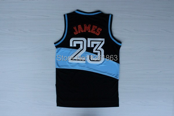 Superstar #23 LeBron James Throwback Jersey, Embroidery Basketball Jersey - Vito_sport1 store
