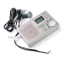 Drop Shipping Portable AM FM Radio Alarm Clock LCD Digital Tuning New Arrive