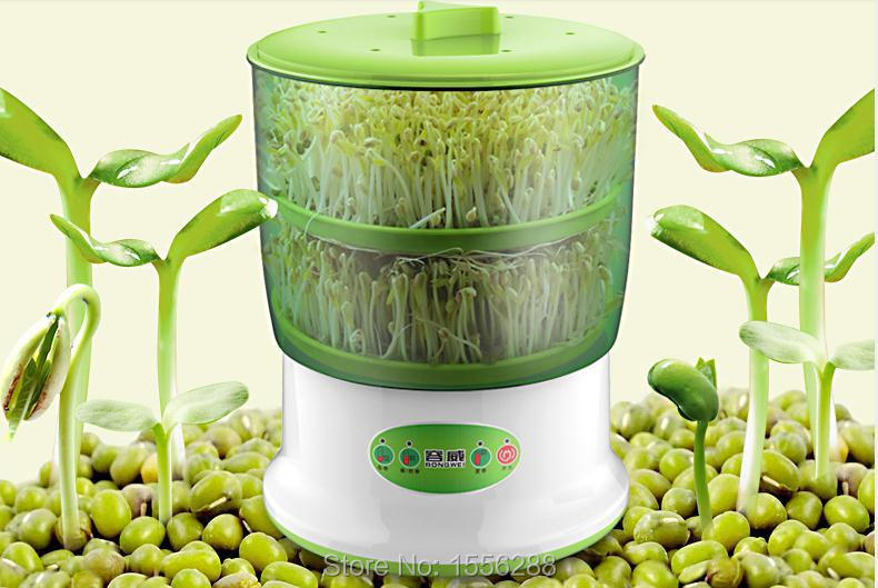 Free shipping bean sprouts machine automatic double bean sprouts machine high-capacity intelligence fruits and vegetables(China (Mainland))