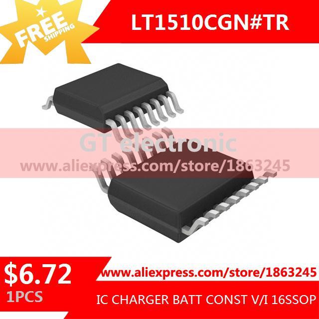 Free Shipping IC Integrated Circuit LT1510CGN#TR IC CHARGER BATT CONST V/I 16SSOP LT1510CGN 1510 LT1510 1pcs(China (Mainland))