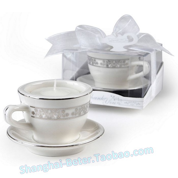 product craft supplies Teacups tea light candle Holders Wedding Favors LZ034 Party Gifts Wedding Souvenirs