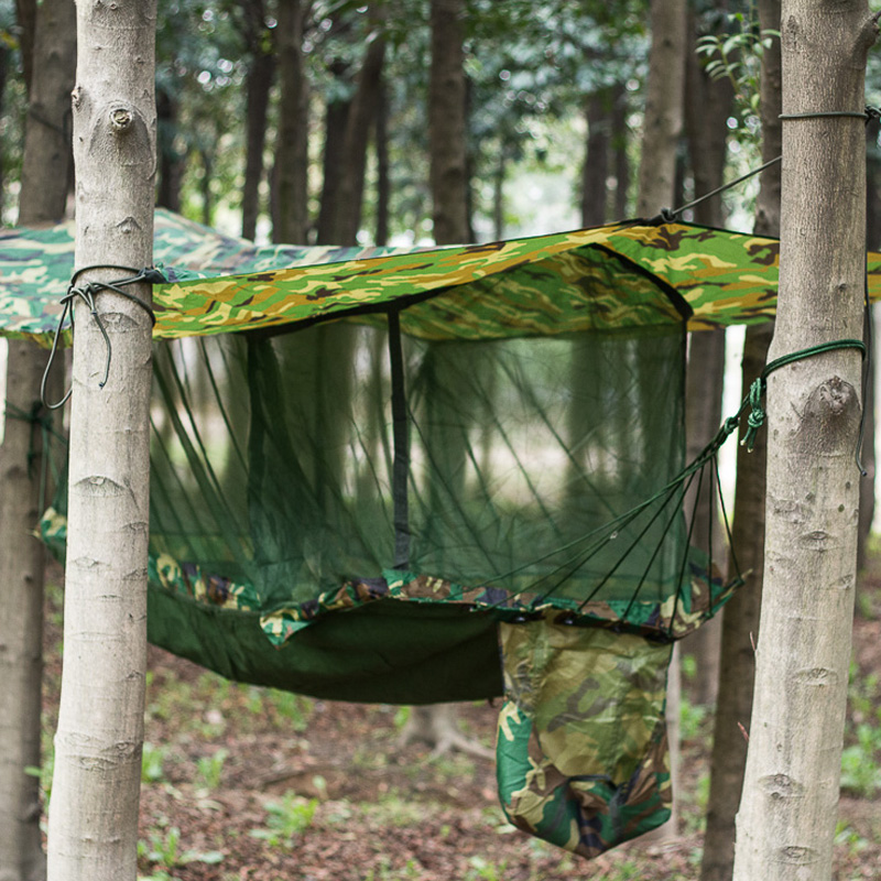 outdoor hanging tent bed tent camping ground single person hammock ...