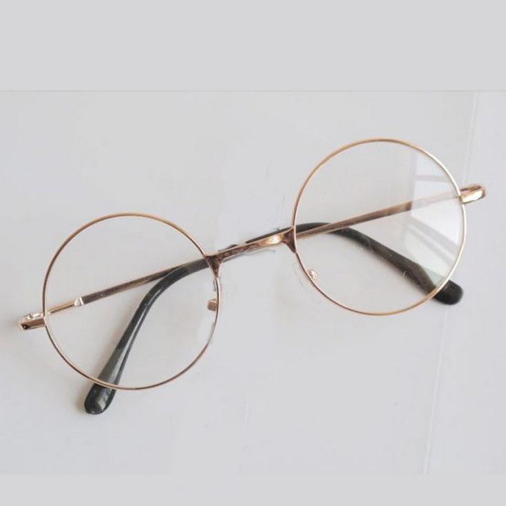 5 par lote classique m tal optique lunettes de harry for Miroir harry potter