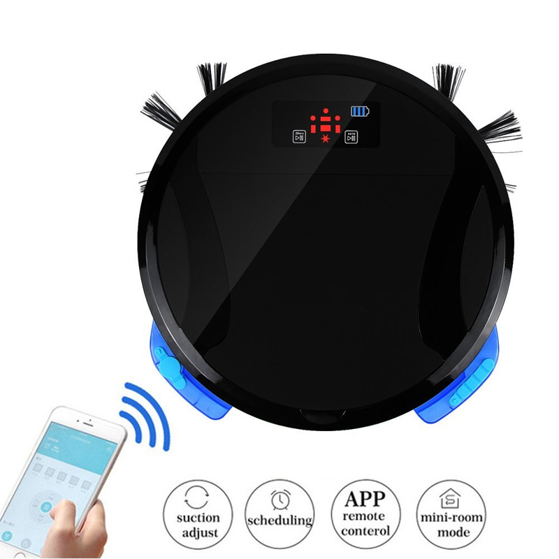 WiFi 2 in 1 Smart Robot Vacuum Cleaner Mop home floor Washing 280ML Water Tank and 700ML dustbin Wet Clean FM01C vacuum for home(China (Mainland))
