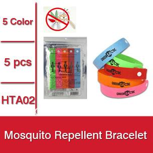 50packs = 250pcs Hot Summer Mosquito Repellent Bracelet,Mosquito Bangle,Mosquito Repellent Wrist -- HTA02 Wholesale & Retail