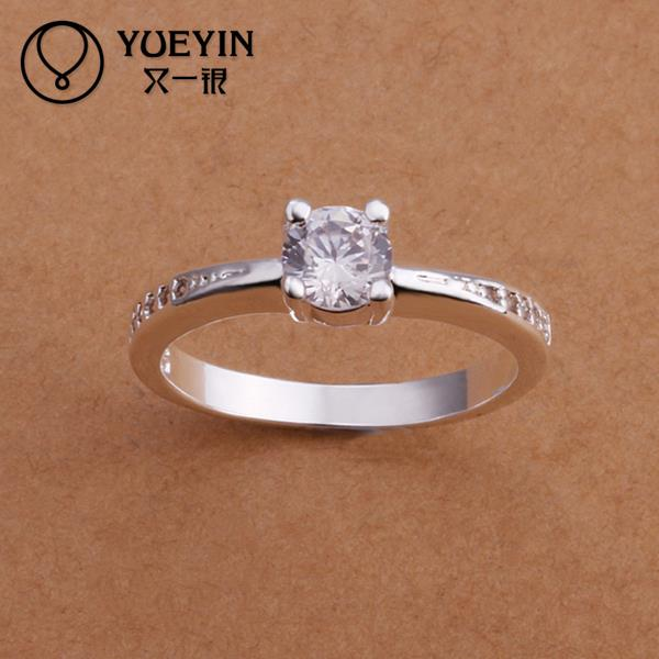 R185 2015 Hot selling 925 sterling silver party ring for women fashion romantic jewelry(China (Mainland))