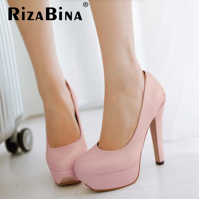 women stiletto high heel shoes platform brand sexy lady quality footwear fashion heeled pumps heels shoes size 34-39 P17677<br><br>Aliexpress