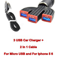 mini usb car charger for Samsung Galaxy S3 S4 for iPod Cell Mobile Phone Charger Adapter free shipping