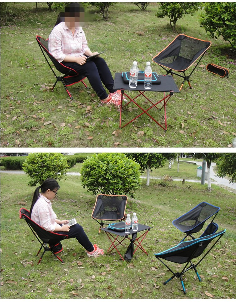 20 27Day Delivery High Quality Aluminium Alloy Mesh Portable Chair For Fishin