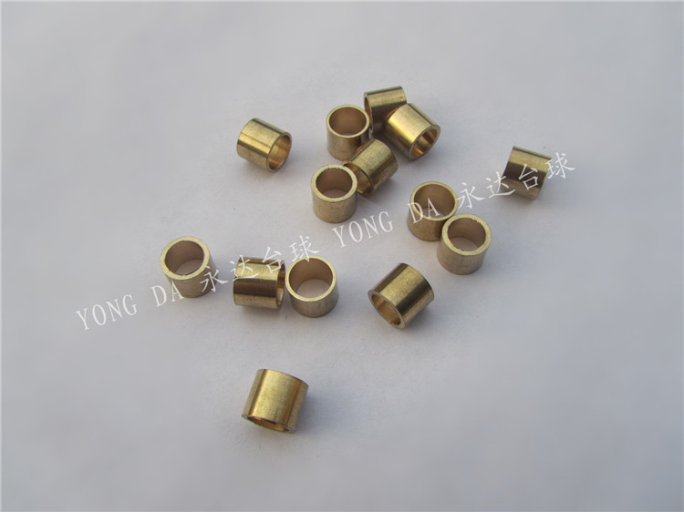 10pcs The cue head copper copper hoop copper mouth 9/10mm snooker black eight 8 table tennis club head billiard accessories(China (Mainland))
