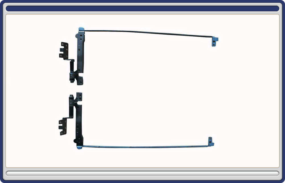 """New LCD Hinges For TOSHIBA SATELLITE A500 A500-14K 15.6"""" Series Laptop Notebook HINGES PN: AM077000800 Wholesale (H168-A500-HK)(China (Mainland))"""
