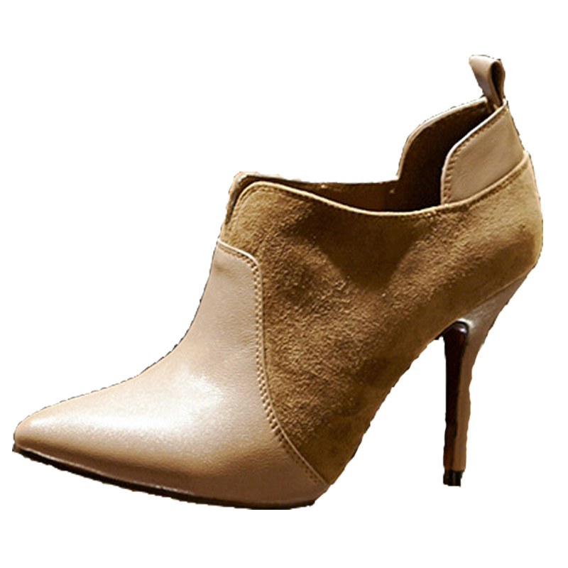 2015 New Brand fashion women boots winter genuine leather shoes bota feminina free shipping/leather boots/hot sale zapatos mujer<br>