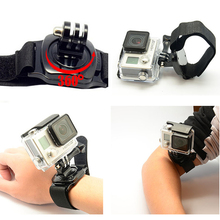 Professional 360 Degree Rotation Hand Wrist Strap Arm Belt With Adapter Mount for Gopro Hero 4 3 2 1 Xiaomi Yi