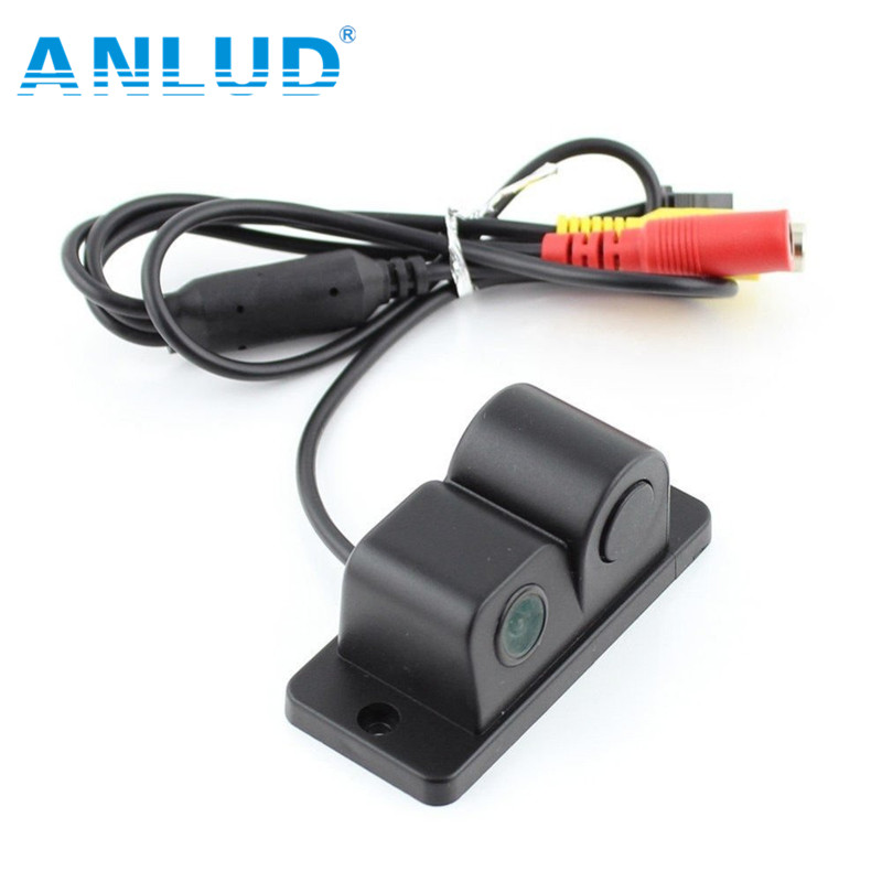 2 in1 Automobiles Car Electronics Parking Sensors Black Sensors Reversing Radar Car Rear View Vamera Reversing Camera Waterproof(China (Mainland))