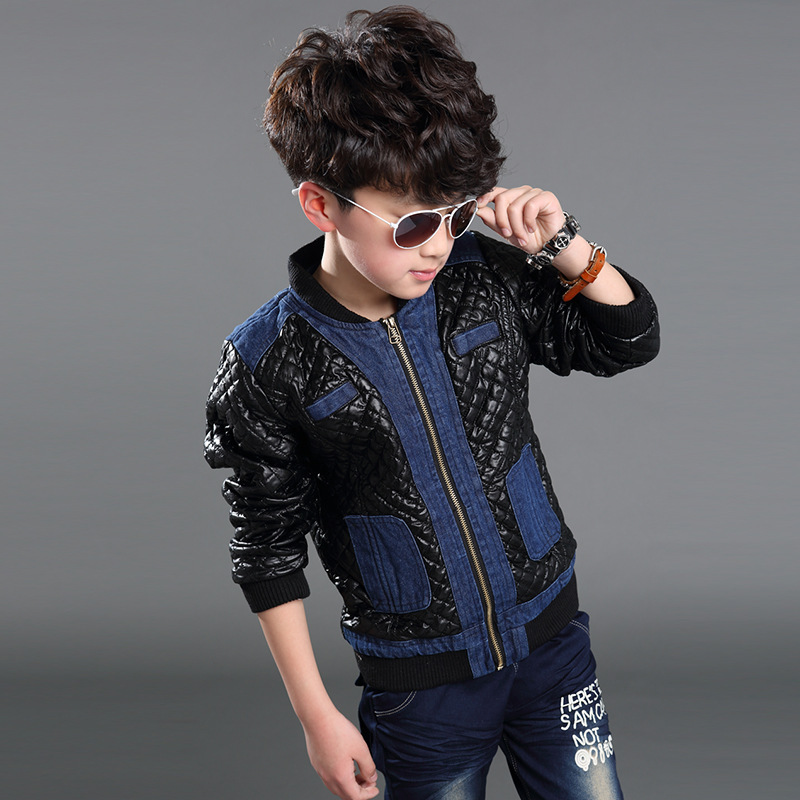 Leather Jeans For Boys Coat Outwear Jeans Leather