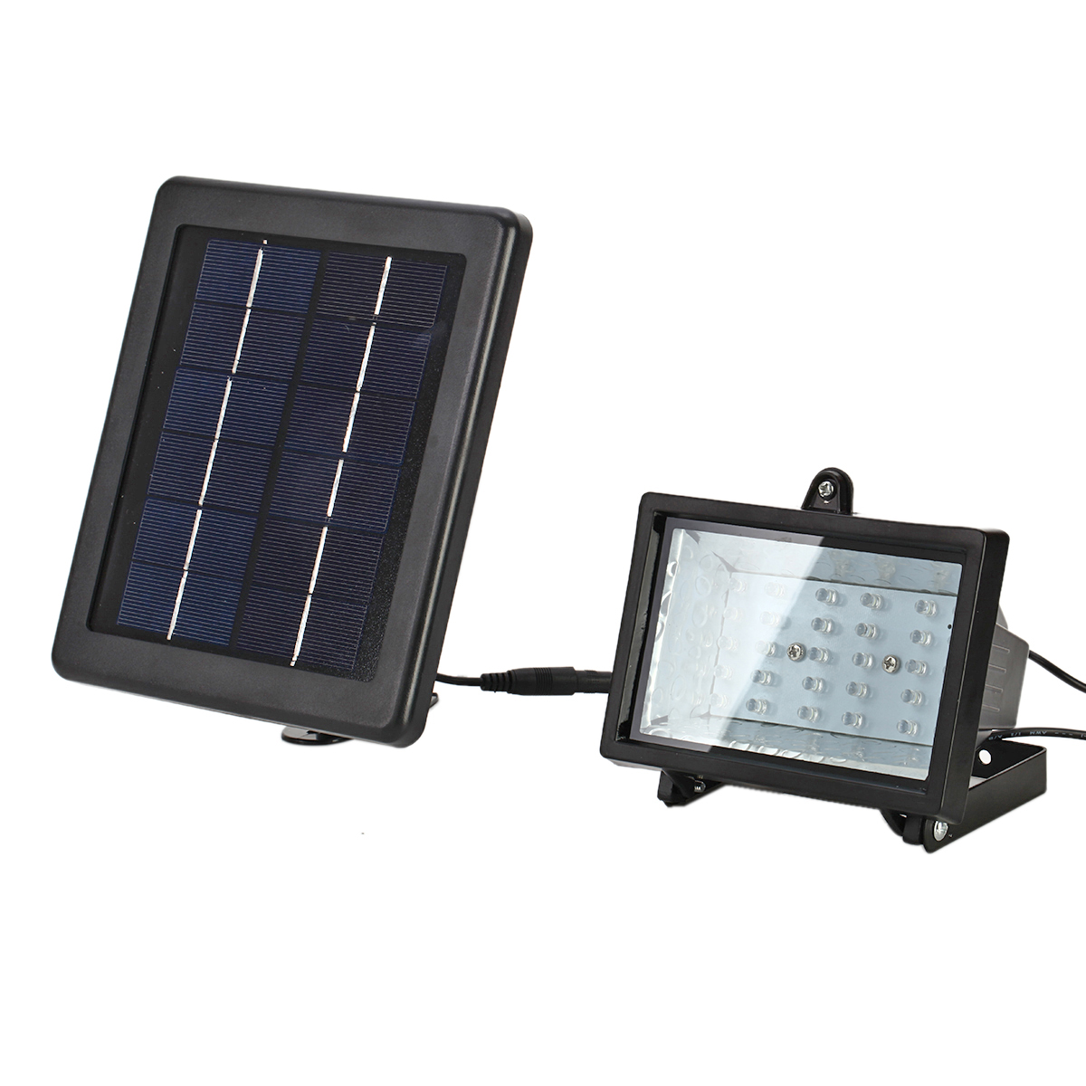 30 LED Solar Powered Spot Light Floodlight Lamp For
