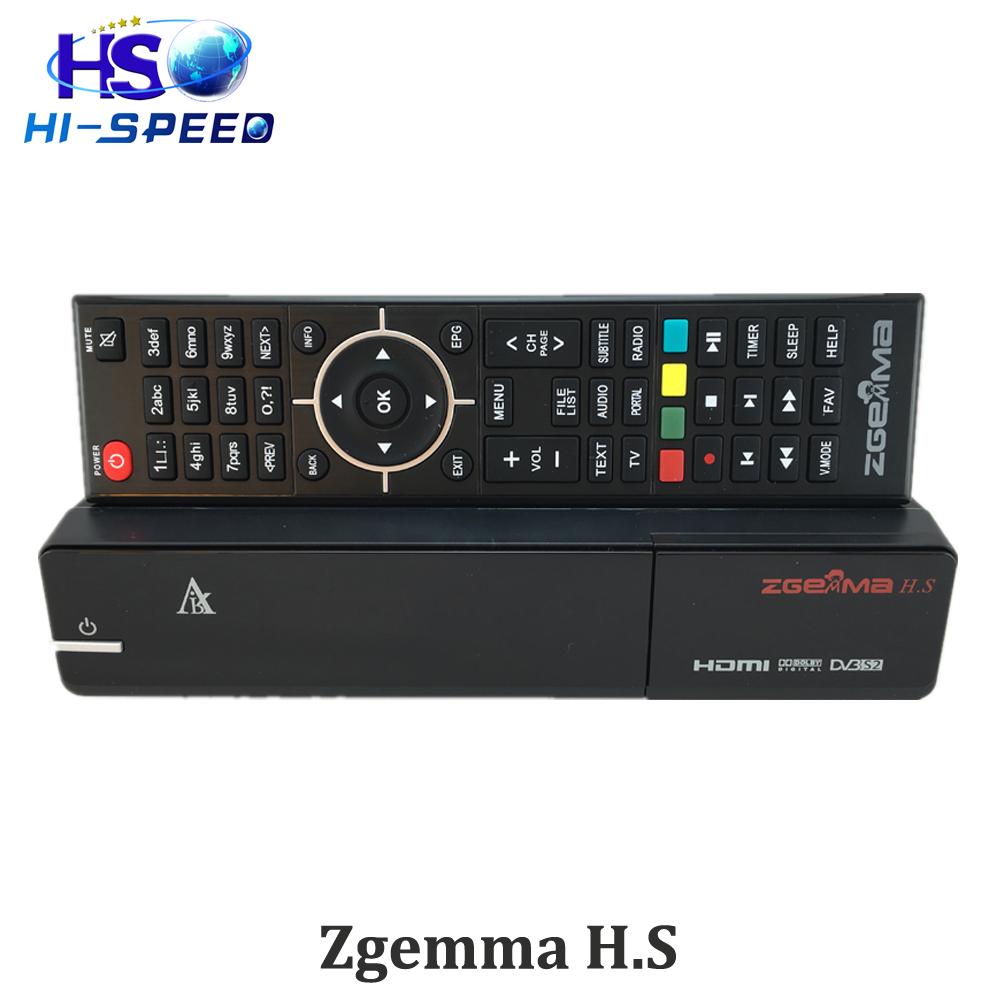 1pc Zgemma H .S full HD Satellite receiver ONE DVB-S2 Tuner built-in enigma 2 linux OS Zgemma-star H.S(China (Mainland))