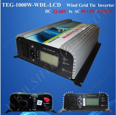 48V 220V 50Hz inverter 1000W, 1KW inverter grid tie wind, best inverter supplier(China (Mainland))