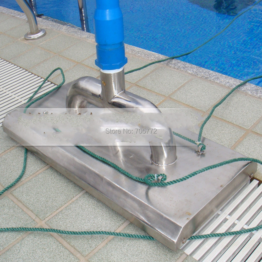 Pool 304 Stainless Steel Sewage Suction Pool Cleaner Head Suction Head Tool Swimming Pool