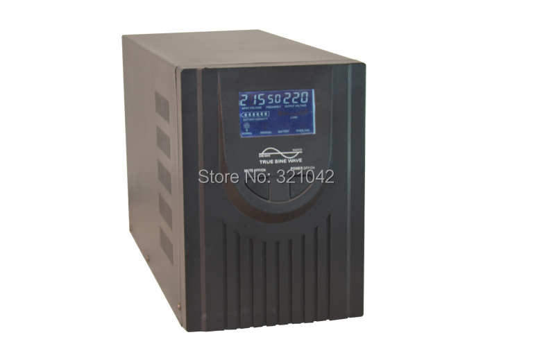 Industrial Level low frequency 1000VA/700W Pure Sine Wave Solar Inverter with charger UPS(China (Mainland))