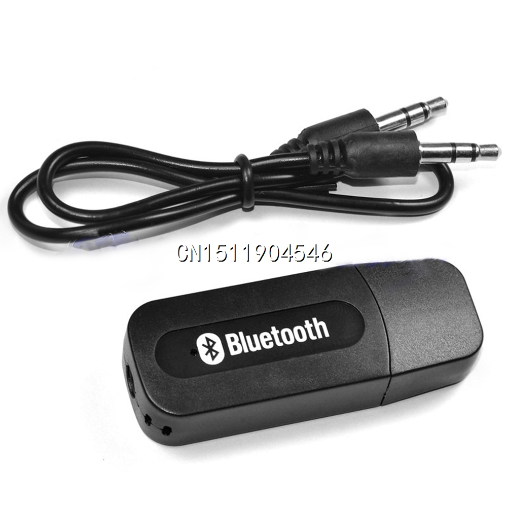 USB Wireless Bluetooth 3 5mm Music Audio Car Handsfree Receiver Adapter