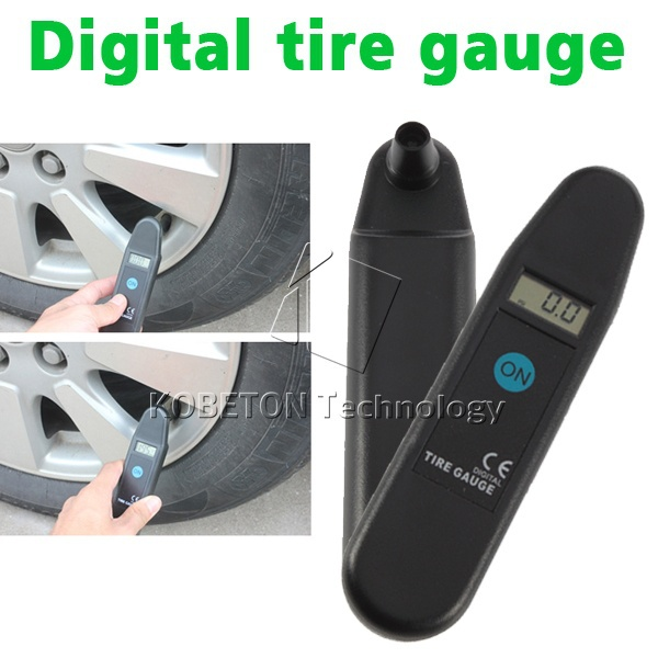 Digital Auto Wheel Tire Air Pressure Gauge Meter Test Tyre Tester Vehicle Motorcycle Car 5-150 PSI KPA BAR KG CM2 LCD Detector(China (Mainland))