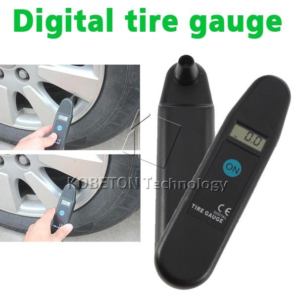 Digital Auto Wheel Tire Air Pressure Gauge Meter Test Tyre Tester Vehicle Motorcycle Car 5-150 PSI KPA BAR KG CM2 LCD Detector(China (Mainland))