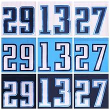 Men's 29 demarco 13 kendall 27 eddie white and blue elite Jerseys(China (Mainland))