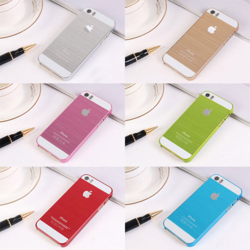 Hot Delicate Frame Luxury Chrome Hard Back Case Cover For iPhone 4 4s 5 5s Multicolor(China (Mainland))