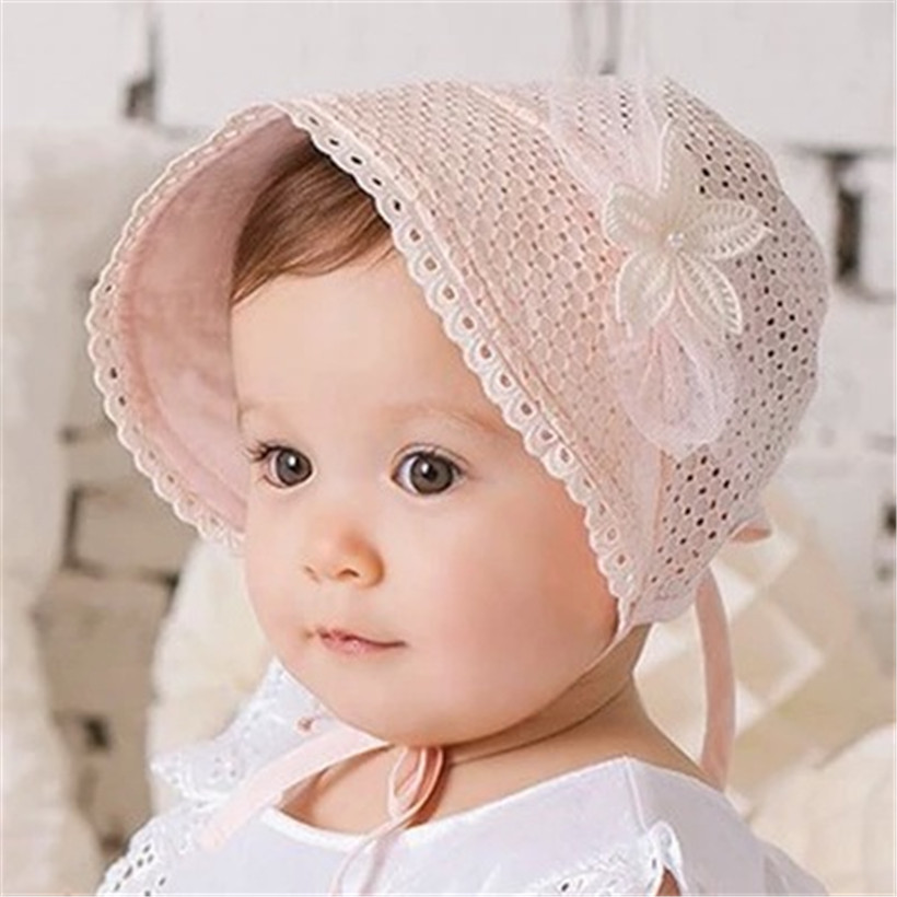 baby hat summer kids beanies girls hats props newborn cap newborn photography accessories children bonnet(China (Mainland))