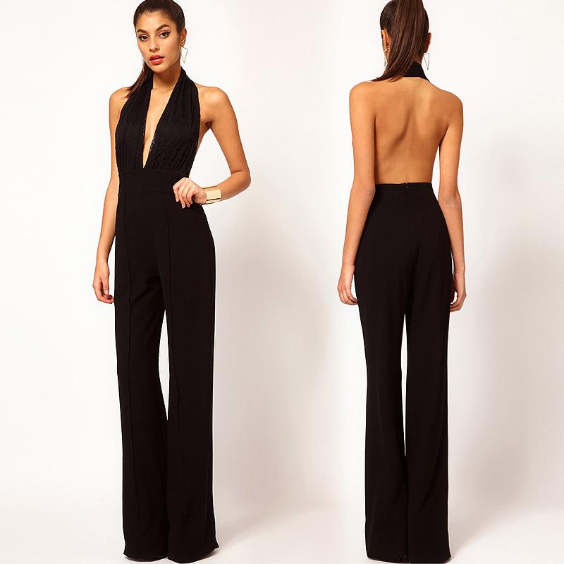 Fantastic Summer Elegant Women39s Fashion Casual Loose Rompers Womens Jumpsuit