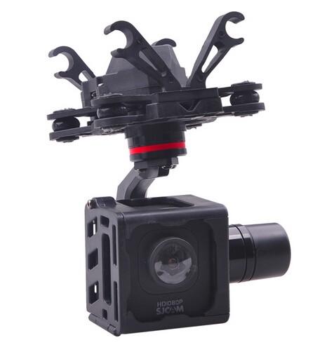 HMG SJM10 3-Axle Brushless Gimbal with AV Output for SJCAM M10 SJM10 WIFI Camera DIY FPV RC Quadcopter Drone F18264