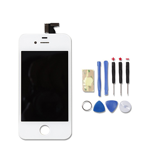 Original Quality LCD Digitizer Touch Screen+LCD Display Frame Assembly +Tools For iphone 4 GSM AT&T