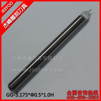 Half Straight Bits For PVC Material /Engraving For Router Machine Bits  A Series