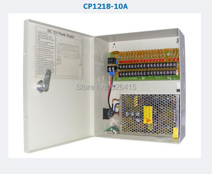 CCTV Camera  Power Supply BOX CCTV 18CH 12V 10A AC 100-240V