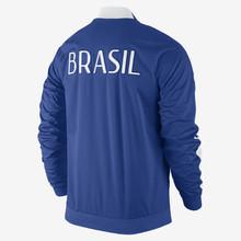 2014 2015 World Cup Brazil N98 Track Jacket Blue Men Soccer Jackets Fashion Men Winter Jacket