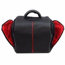Shoulder Waterproof DSLR SLR Carry Case For Canon Nikon Backpack Camera Bag Free Shipping