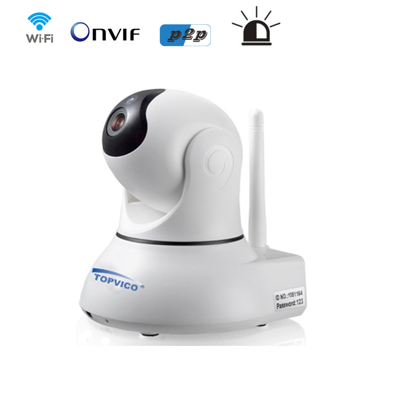 Wirelss Alarm ip camera 720P 1.0 Megapixels Pan Tilt with ONVIF p2p plug play ip camera wifi HOME security camera #6(China (Mainland))