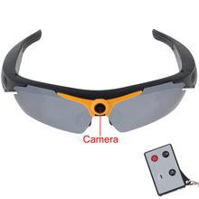 Super Sunglasses Camera Mini Sunglasses Video Camera 1280x720P HD 5MP CMOS Sensor Lithium Battery 32GB TF Card Slot with Remote