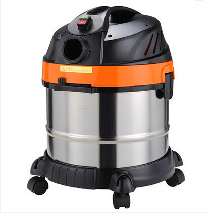 German patent wet and dry vacuum cleaner with flowing function 1400W 20L Free Shipping(China (Mainland))