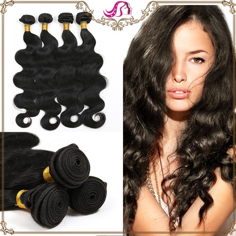 Здесь можно купить  Top Quality Grace Hair Brazilian Body Wave 4 Bundles Natural Black 5A 100% Unprocessed Virgin Brazilian Human Hair Can Be Dyed  Волосы и аксессуары